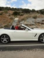 Mercedes-SL 500 test ride