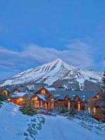 Ultra exclusive ski resort