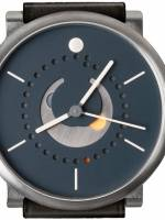 Och und Junior Moonphase Platina watch blue dial option