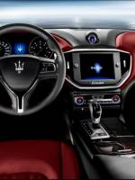 2014 Maserati Ghibli sports sedan interior view