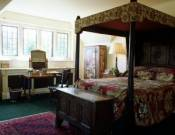 The 16th century styled bedroom
