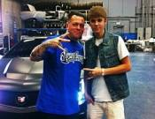 Justin with a West Coast Customs guy