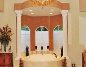 One of the seven bathrooms