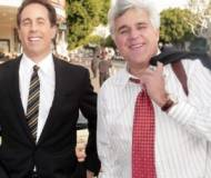 Jerry Seinfeld and Jay Leno