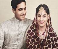 K.P Singh with wife Indira