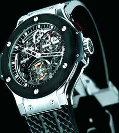 hublot tourbillon column wheel chronograph