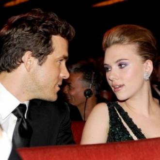 Scarlett with Ryan Reynolds