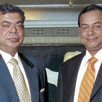 Ravi Ruia (Right) heads the Essar Group which was founded in 1969