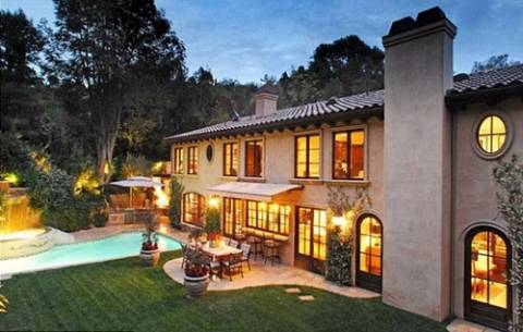 Kim Kardashian Beverly Hills mansion