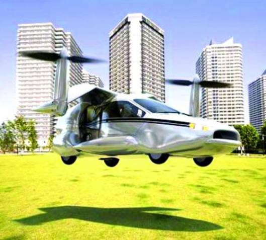 Terrafugia TF-X: The Flying Car