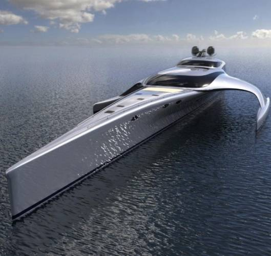 $15 Million Adastra: Luxury Yacht
