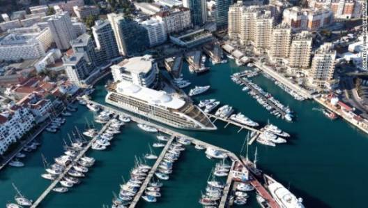 Gibraltar To Have a $200 Million Luxury Yacht Hotel