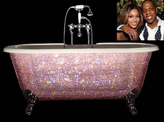 Beyonce gets a $7,000 Swarovski crystal baby bathtub gift for unborn baby
