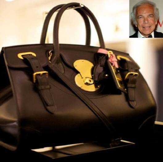 Ralph Lauren's Handbag Auction for breast cancer