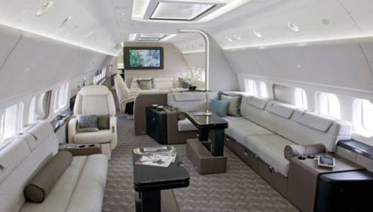 Boeing's ultra-luxurious new BBJ jet boasts ultimate connectivity for working aboard