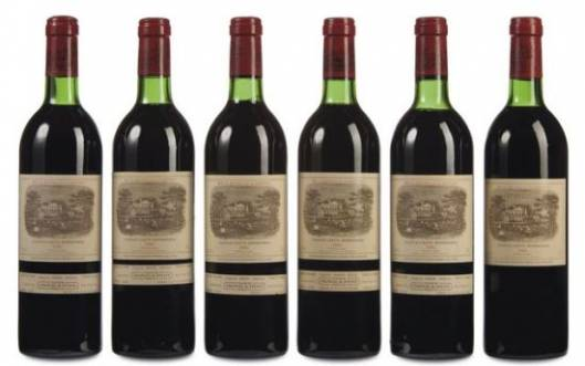 Chateau Lafite 1982 wine lot leads Christie's Online Wine Auction