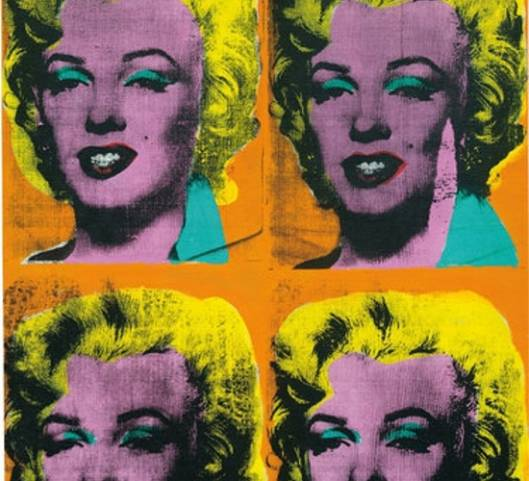 Andy Warhol's 'Four Marilyns' sells for $34 million at Phillips auction