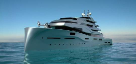 Icon Yachts 120m Expose superyacht concept is an extraordinary yacht for the one percent