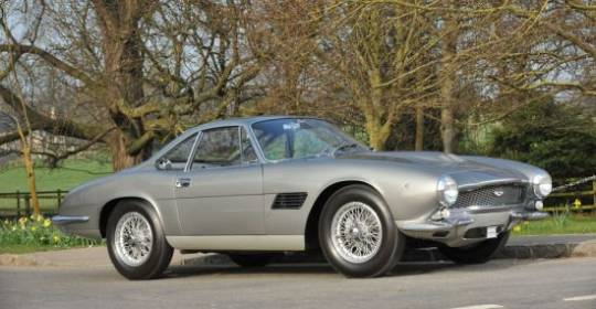 One-of-a-kind DB4GT with Italian-built coachwork offered at Bonhams sale in Aston Martin's centenary year