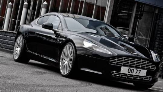 A. Kahn Design unveils the Aston Martin Rapide 4-Door sports car