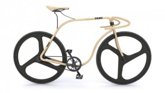 $70,000 Thonet Bike is Crafted from Bent Beech Wood