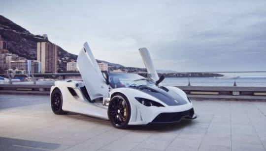 Slovenian Supercar Tushek Renovatio T500