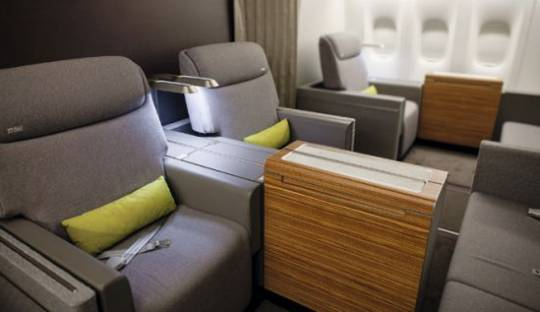 Brazil's TAM Airlines First Class Cabin