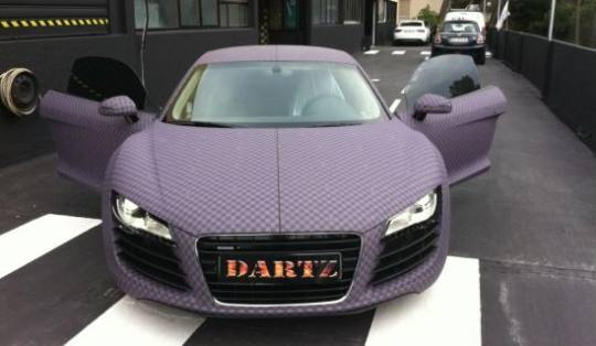 dartz audi chess r8