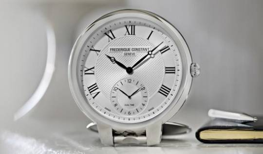 Frederique Constant Table Clock is a perfect gentlemans gift