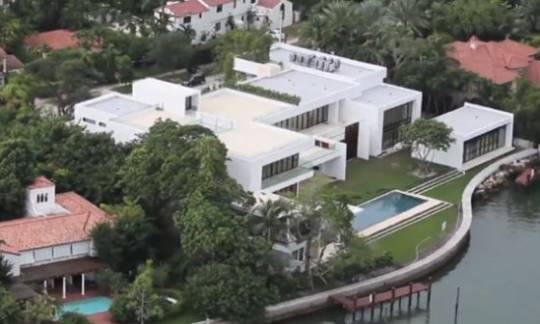 Alex Rodriguez's Miami Home