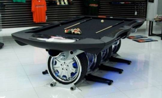 automotive pool table