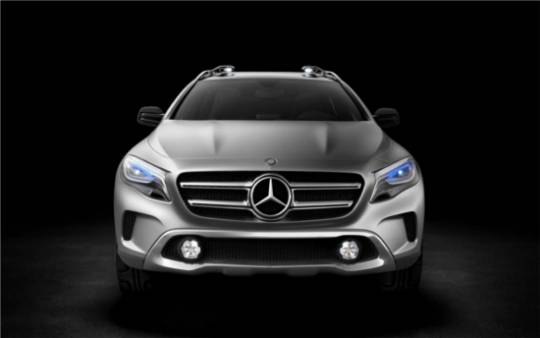 Mercedes-Benz GLA Concept SUV will sport a more fluid body design