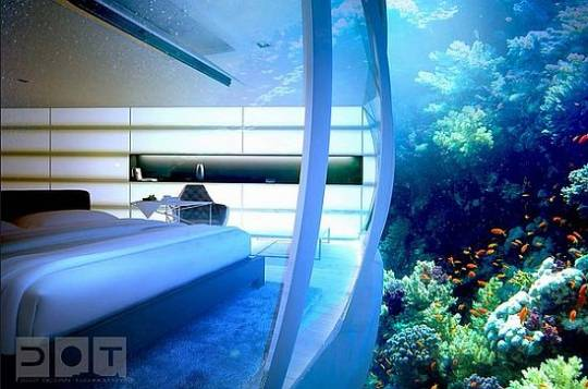 The Discus underwater Resort, Dubai