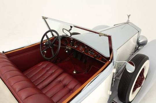 The 1927 Rolls-Royce Phantom I Playboy Roadster with a great Hollywood history up for auction