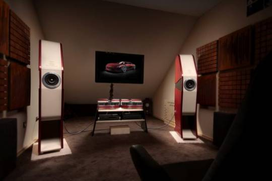 "Vilner's audio system inspired by the Rimac ""Concept One"""