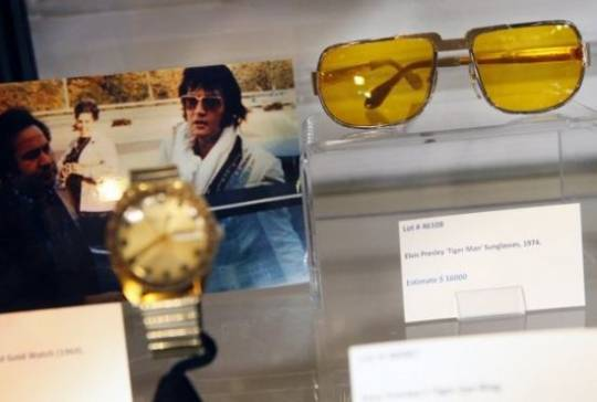 Elvis Presley's memorabilia auction marks the legend's 35th death anniversary