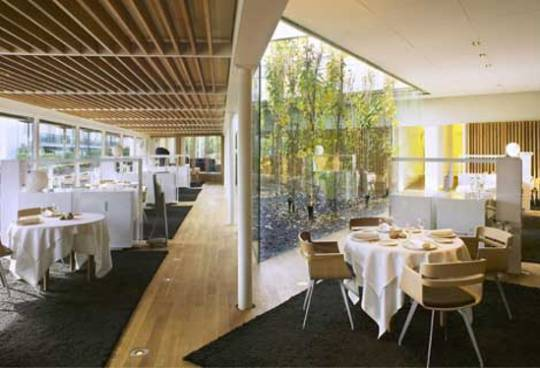 The interiors of the El Cellar de Can Roca restaurant