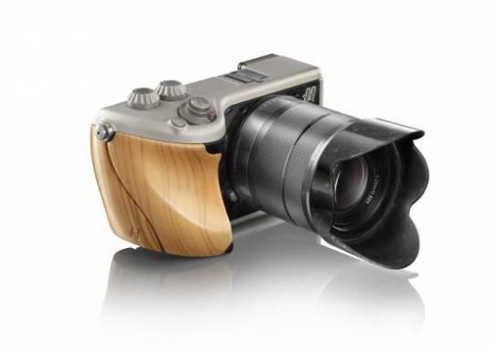 Hasselblad Lunar olive wood and titanium option