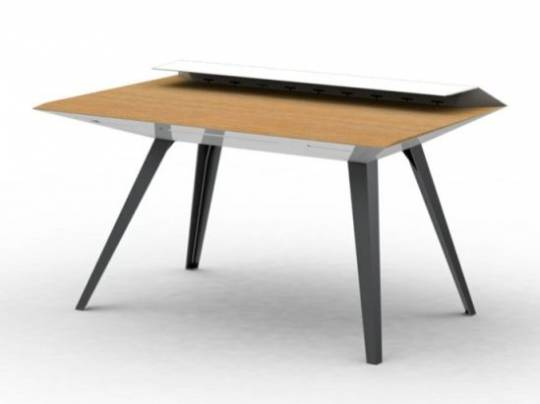 David HSU's Hi-Tech Carbon Desk 117 White version