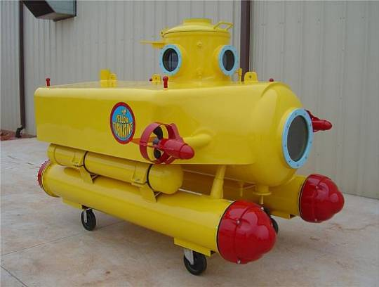 1969 2 MAN SONAR SUBMARINE