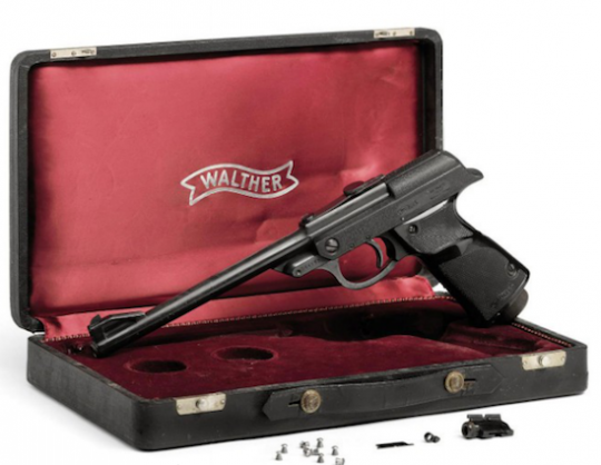 Walther air pistol