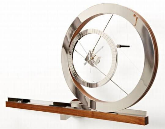 Clock for an acrobat watch
