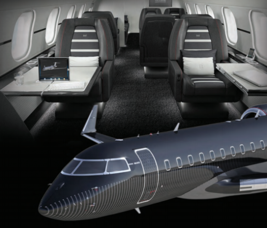 Cabin Interior and Aircraft Exterior Design Together