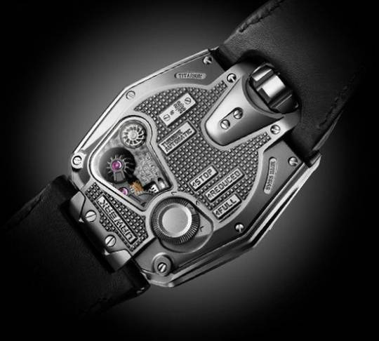 The Urwerk UR-210 Maltese Falcon with World's First Winding Efficiency Indicator