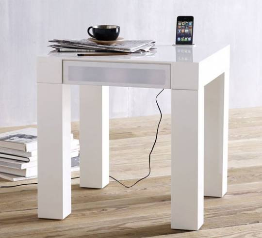 West Elm Parsons Audio End table