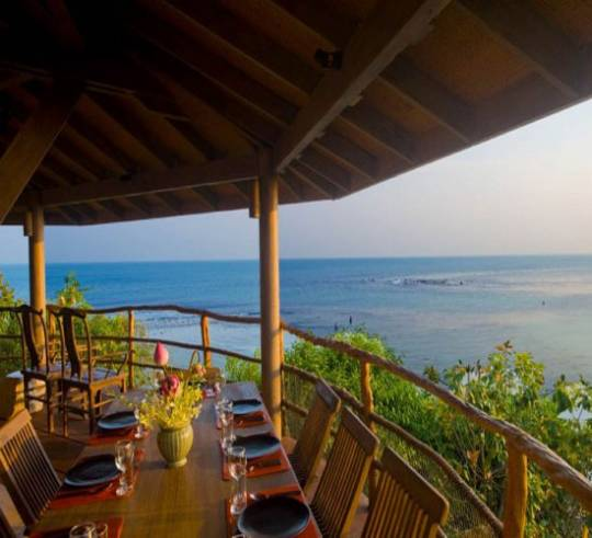 The villa is located close to Kamalaya, an award winning wellness retreat.