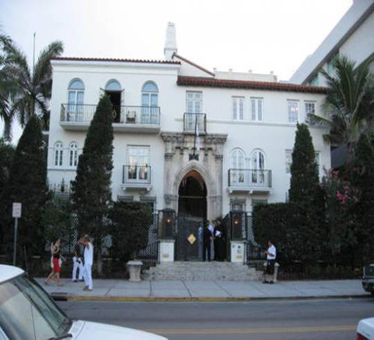 Gianni Versace was killed on the steps of this mansion