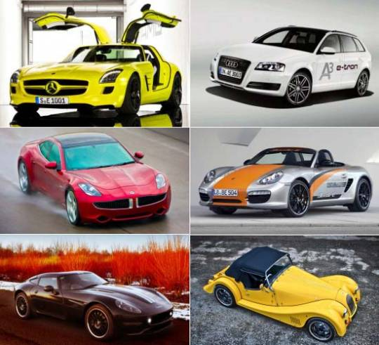 Most expensive electric cars from present and future