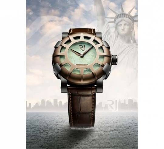 RJ-Romain Jerome Liberty-DNA celebrates the 125 anniversary of the Statue of Liberty