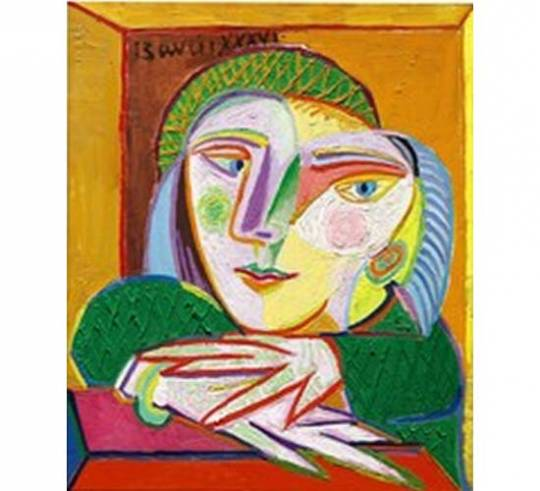Pablo Picasso's Femme a la fenetre 'Woman at the Window' (Marie-Therese)